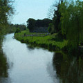 Little Brosna River Riverstown Ireland by Teresa Mucha