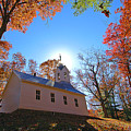 Little Cataloochee Church by Alan Lenk