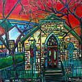 Little Church At La Villita by Patti Schermerhorn