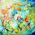 Little Cosmos by Leonard Aitken