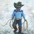 Little Cowboy Lasso by Vickie Wade