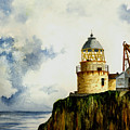 Little Cumbrae Lighthouse by Michael Vigliotti