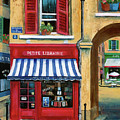 Little French Book Store by Marilyn Dunlap