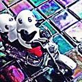 Little Glass Pandas 45 by Sarah Loft