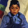 Little Indian by Henri Robert