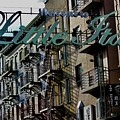 Little Italy In New York by Lorna Maza