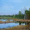 Little Musquatch Lake by Karsten Kittelsen