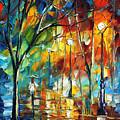 Little Park by Leonid Afremov