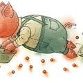 Little Pig by Kestutis Kasparavicius