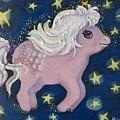 Little Pink Horse by Rita Fetisov