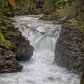 Little Qualicum Lower Falls by Randy Hall