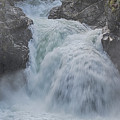 Little Qualicum Upper Falls by Randy Hall