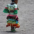 Little Rays Of Sunshine Little Girl At Pow Wow Colorful Photograph by Colleen Cornelius