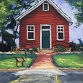 Little Red Schoolhouse Nature Center by Christine Camp