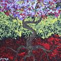 Little Red Tree 2 by Stefan Duncan