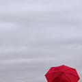 Little Red Umbrella by Don Schwartz