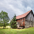 Little Rustic Barn, Adirondacks by Gary Heller