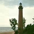 Little Sable Point Light by Kenneth Campbell