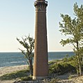 Little Sable Point Light by Michael Peychich
