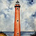 Little Sable Point Lighthouse by Michael Vigliotti