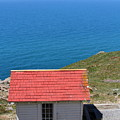 Little Shack At The Point Reyes Lighthouse In California . 7d16020 by Wingsdomain Art and Photography