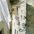 Little Street In Dubrovnik by Sakurov Igor