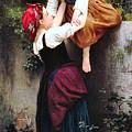 Little Thieves 1872 by William Bouguereau