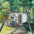 Little West Indian House 2...sold by Karin  Dawn Kelshall- Best
