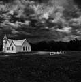 Little White Church On The Prairie by Anna Louise