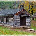 Little Wooden Chapel by John M Bailey