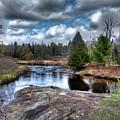 Big Woodhull Creek by David Patterson