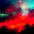 Splashing Colors Of What I Seen by Stephanie Shackleford
