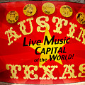 Live Music Mural Of Austin by Andrew Nourse