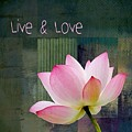 Live N Love - - 0333-15a by Variance Collections