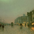 Liverpool Docks From Wapping by John Atkinson Grimshaw