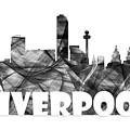 Liverpool England Skyline by Marlene Watson