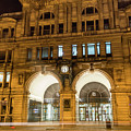 Liverpool Exchange Railway Station By Night by Jacek Wojnarowski