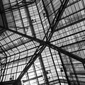 Liverpool Street Station Glass Ceiling Abstract by John Williams