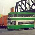 Liverpool Tram 1953 by Peter Gartner