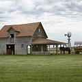 Livestock Barn by Susan Rissi Tregoning