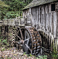 Cable Mill Gristmill - Great Smoky Mountains National Park by Wes Iversen