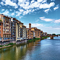 Living Next To The Arno River by Eduardo Jose Accorinti