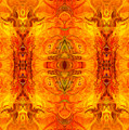 Living Passion Abstract Bliss  By Omashte by Omaste Witkowski