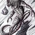 Lizard Warrior by Keith Murrell
