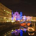 Ljubljana At Christmas by Ian Middleton