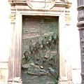 Ljubljana Bronze Church Door by Marko Mitic