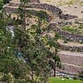llactapata Site and Urubamba River by Bob Phillips