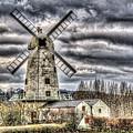 Llancayo Mill Usk 3 by Steve Purnell