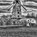 Llancayo Mill Usk 4 Mono by Steve Purnell