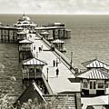 Llandudno Pier North Wales Uk by Mal Bray